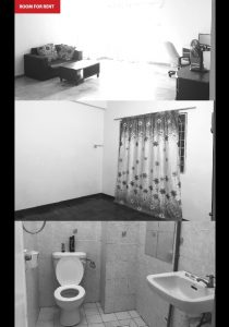 room for rent, single room, bandar sunway, Ridzuan Condo, Bandar Sunway- Partially furnished Room for Rent
