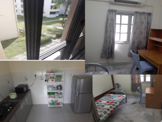 room for rent, single room, bandar sunway, Sunway court [Block A, Level 1] Small room including utilities+wifi