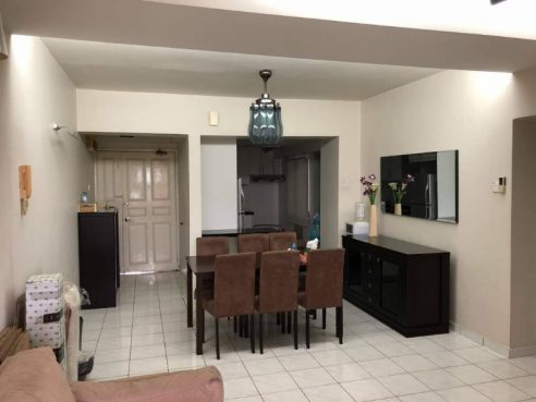 room for rent, medium room, jalan damansara, desa kiara codominium medium room
