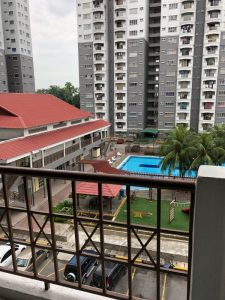 room for rent, apartment, sri petaling, [WELL KEPT] ENDAH RIA near Promenade Villa Regal Puri & LRT Sri Petaling
