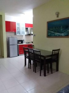 room for rent, apartment, setapak, 【LOW DEPOSIT】Pv10 3r2b Fully Furnished Available NOW