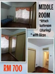 room for rent, medium room, ampang jaya, Place is clean , secured and transpo accessible