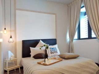 room for rent, master room, cheras 11 miles, Fully Furnished Master Bedroom With Interior Design