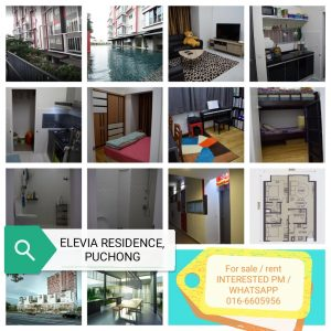 room for rent, apartment, puchong, New Condo For Rent