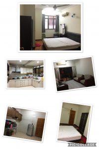 room for rent, medium room, bandar utama, BU 11 Middle room for rent