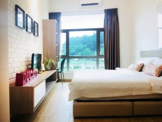 room for rent, apartment, segambut, Short Term Rental at Mont Kiara Neighbourhood