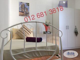 room for rent, medium room, bandar sunway, NEW Chic Deluxe Rooms Near Da Men Sunway Monash Uni , Taylor's , Segi , Inti , The One Academy , Cilantro , USJ 6 , USJ 10 Taipan , BRT & LRT Station
