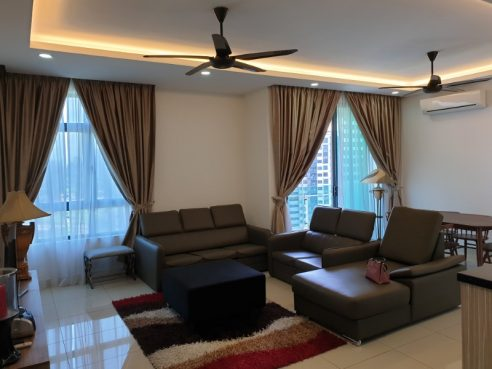 room for rent, apartment, taman sungai besi, The Vyne Residence (Fully furnish)