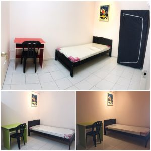 room for rent, single room, kuala lumpur, 🔥SMALL ROOM🔥 FULLY FURNISHED! 5MINS WALK TO LRT! SAME LINE TO KLCC/KL SENTRAL!