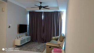 room for rent, apartment, bandar saujana putra, Highest floor furnished apartment