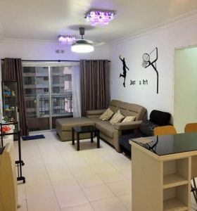 room for rent, single room, bandar menjalara, Single Room at Plaza Medan Putra, Bandar Menjalara - Beverly 1