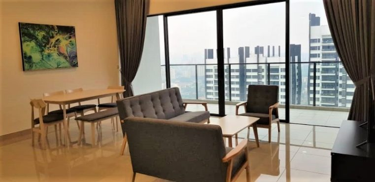 room for rent, apartment, mont kiara, [ HIGH FLOOR KLCC VIEW ] Fully Furnished only RM2500 for Corner unit nearby Mont Kiara!!