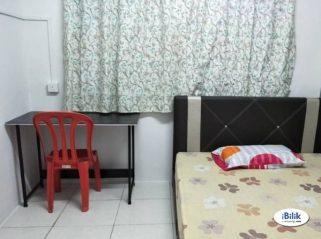 room for rent, medium room, taman mayang, Fully Furnish Aircon Room Taman Mayang SS25 & SS26 Kelana Jaya, High Speed WI-FI