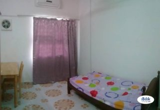room for rent, medium room, setia alam, Setia Alam Near Setia City Mall, Bandar Bukit Raja Include Utilities With Weekly Cleaning