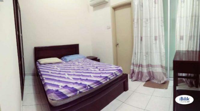 room for rent, medium room, bandar puchong jaya, Room At Bandar Puchong Jaya, Jln Kenari & Tempua With Wifi