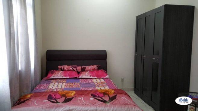 room for rent, single room, bandar puchong jaya, Master Room at Bandar Puchong Jaya, JLN TEMPUA With 100MBPS LRT STATION