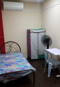 room for rent, medium room, damansara utama, Shoplot hotel concept fully furnished rooms with aircond