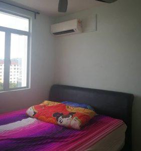room for rent, medium room, petaling jaya, Middle Room + Car Park @ 1120 Park Avenue,