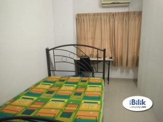 room for rent, medium room, tropicana, Available Room Rent Tropicana Indah Walking Segi Uni, KD MRT [WI-FI]