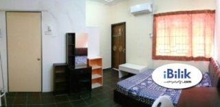 room for rent, medium room, putra heights, Room For Rent at Putra Heights , Subang Jaya LRT & High Speed Wifi