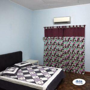 room for rent, master room, bandar puteri puchong, Room Rent With A/C at Bandar Puteri Puchong, Puchong