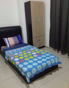 room for rent, single room, jalan akuatik 13/77, NEAR MSU/D KAYANGAN FREE WIFI NICE ROOM FOR RENT