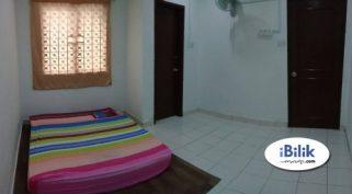 room for rent, medium room, bangsar, Aircon & Wi-Fi Room At Bangsar Nearby Bangsar Village,KL Sentral, Mid Valley