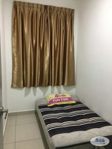 room for rent, medium room, bukit rimau, NEW FURNISHED ROOM AT BUKIT RIMAU With Free Wifi Room to let