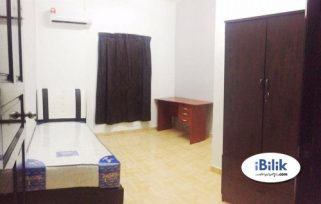 room for rent, master room, d'kayangan, Aircon Room Attach bathroom at Shah Alam, D'Kayangan Nearby AEON Section 13, Giant [WIFI]