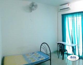 room for rent, medium room, setia alam, Room at Setia Alam NEAR Klang Sentral & Bandar Bukit Raja With Weekly cleaning
