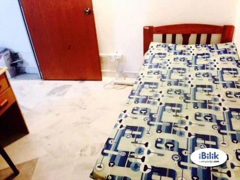room for rent, master room, kota kemuning, Non-Smoking Unit Single Room at Kota Kemuning, Shah Alam 100MBPS WIFI