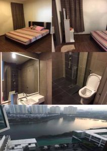 room for rent, master room, danau kota, A TWO MASTER ROOMS WITH A TWO PRIVATE ROOMS FOR RENT FOR LADIES ONLY