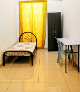 room for rent, medium room, kepong, With 100MBPS WIFI !! Kepong Room For Rent With Free internet & A/C