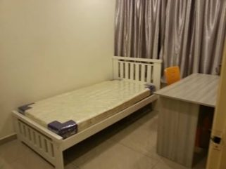 room for rent, single room, cheras, Newly Renovated Small Room Midah MRT Bahtera Tesco Cheras With Parking Spaces