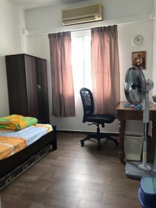 room for rent, medium room, puchong, JACKY CHEW