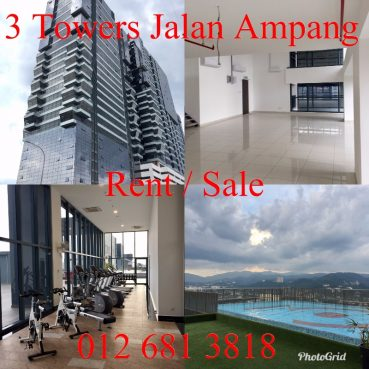 room for rent, studio, kuala lumpur city centre, NEW Chic Duplex 3 Towers Jalan Ampang SOHO Office 5 mins to KLCC