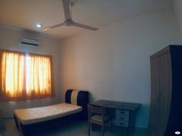 room for rent, medium room, taman mayang, Comfortable Room Taman Mayang Include Utilities, Full Furnished