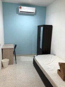 room for rent, medium room, bukit rimau, Room To Let at Bukit Rimau Include Utilities, Free Internet & Maintenance provided