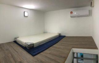 room for rent, medium room, bandar utama, Cozy Room For Rent at Bandar Utama With Maintenance & 24Hrs security