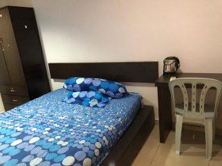room for rent, medium room, bandar botanik, Affordable Living Room Rent at Bandar Botanik With 24hrs Security & Free Maintenance