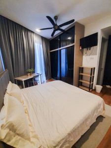 room for rent, master room, bangsar south, Deluxe Master Room @ Equipped w TV & Bathtub