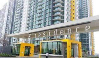 room for rent, single room, jalan jalil perwira 2, Z residence single room