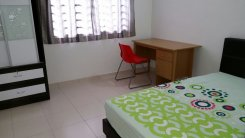 room for rent, medium room, ss 14, Non-Smoking Unit rent at SS14, PJ with utilities Inc. & Fully Furnished