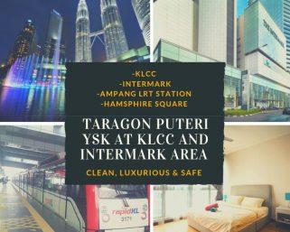 room for rent, master room, jalan yap kwan seng, Super Luxury MaterRoom Ensuite with Jacuzzi Taragon Puteri YKS!!