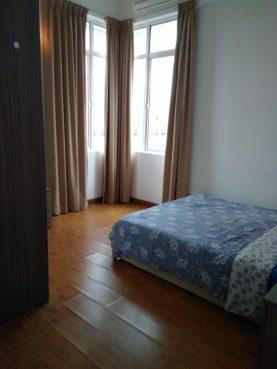 room for rent, master room, titiwangsa sentral, Vue Residences Serviced Suite - master bedroom for rent