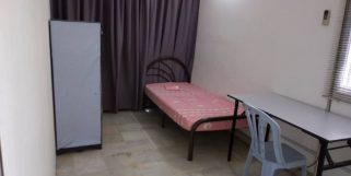 room for rent, medium room, seksyen 14 petaling jaya, Weekly Cleaning Unit For Rent At Seksyen 14, PJ with Internet & Aircond