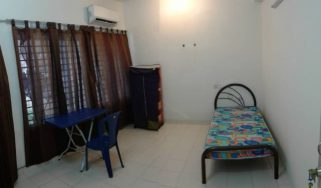 room for rent, medium room, setia alam, 100MBPS WIFI Room For Rent at Setia Alam With WiFi & Free Housekeeping