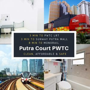 room for rent, single room, jalan ipoh kecil, Cozy Room at Putra Court Minutes Away to LRT PWTC, Monorail ChowKit , KTM Putra , IUMW, Sunway Putra Mall . Very Clean & Safe!
