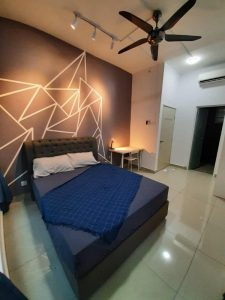 room for rent, master room, cyberjaya, NEWLY RENOVATED AND COMFORTABLE FULLY FURNISHED MASTER ROOM FOR RENT RM 930
