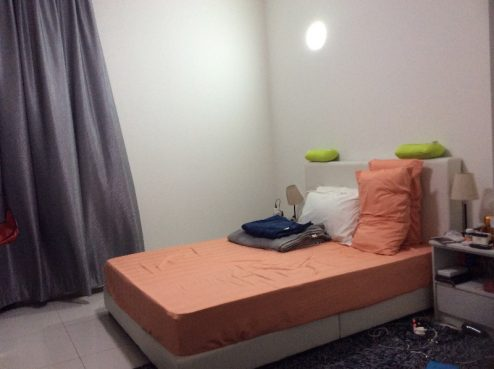 room for rent, master room, sungai besi, Spacious master bedroom with private bath